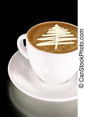 kaffe træ, jul
