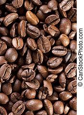 Kaffeebohnen ger?stet - als Hintergrundbild verwendbar