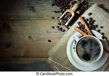 kaffeetasse, hintergrund