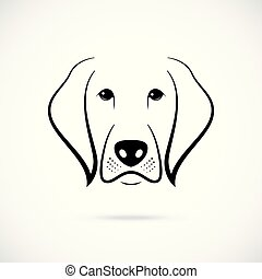kaganiec, biały pies, tło.