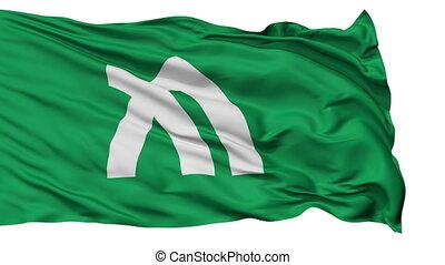 Kagawa Prefecture Isolated Flag