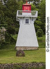 Kagawong Lighthouse on Manitoulin Island