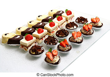 kage, sød, velsmagende, dessert