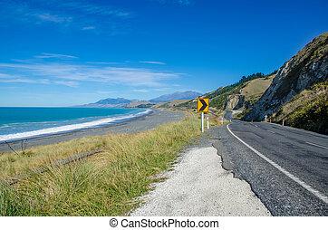 Kaikoura in New Zealand.