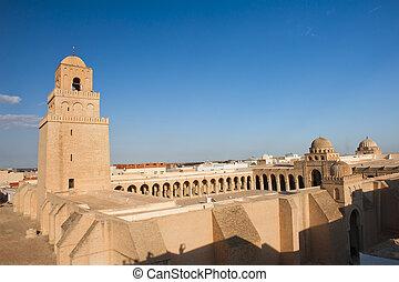 kairouan, meczet, wielki