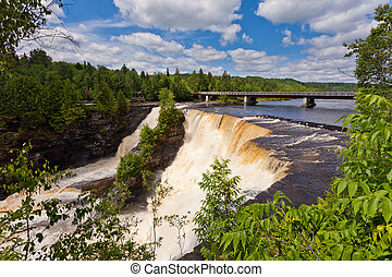Kakabeka Falls near Thunder Bay Ontario ON Canada