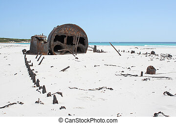 kakapo, 浜, kommetjie, 難破