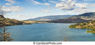 kalamalka, lago, columbia, britânico