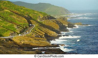 Kalanianaole Highway South Shore Oahu Hawaii Pacific Ocean...