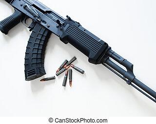 Kalashnikov AK-47 - Custom painted AK-47 with a 30 round ...