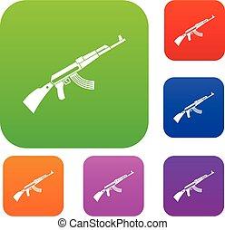 Kalashnikov machine set collection - Kalashnikov machine set...