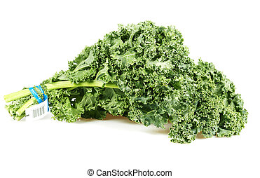 Kale cabbage. Healthy diet and nutrition background.
