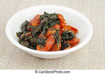 Kale Tomato Appetizer