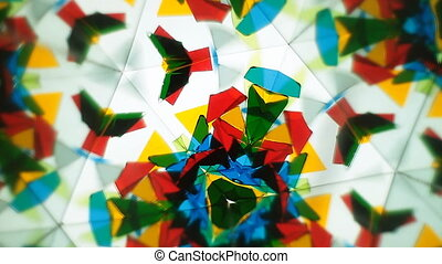 Kaleidoscope  - A kaleidoscope of shifting shapes and colors