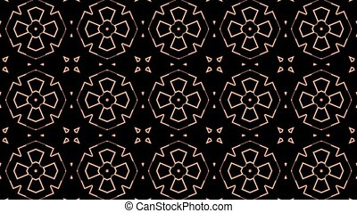 A kaleidoscope with multiple variations.