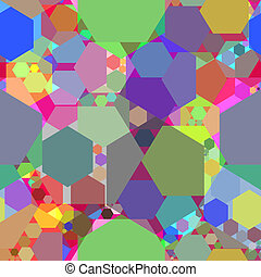 kaleidoscope abstract texture, art illustration