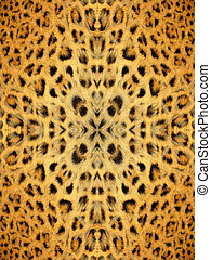 Kaleidoscope Animal Fur Pattern