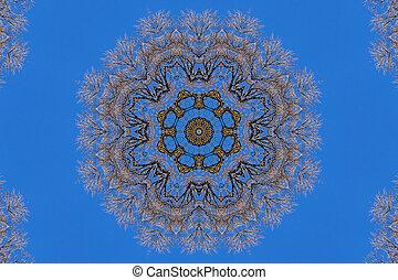 kaleidoscope background pattern