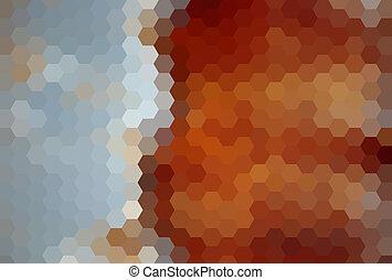 Kaleidoscope geometric pattern. Vector background.