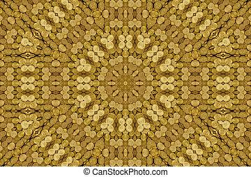 Kaleidoscope of American gold coin treasure hoard