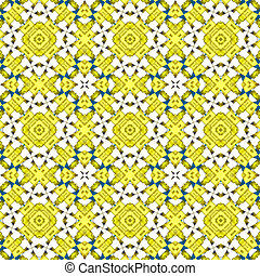 Kaleidoscope seamless patterns abstract background. Magic mandala