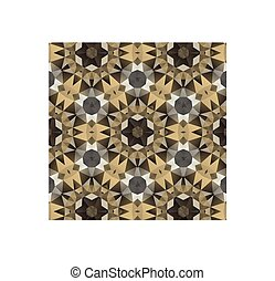 Kaleidoscope - Vector kaleidoscope pattern background,...