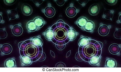 Kaleidoscope VJ loop Background.