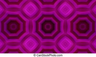 kaleidoscopic animation background - VJ Fractal purple...