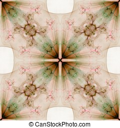 Kaleidoscopic Light Abstract - Kaleidoscopic cross effect...