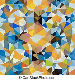 Kaleidoscopic low poly triangle style vector mosaic...