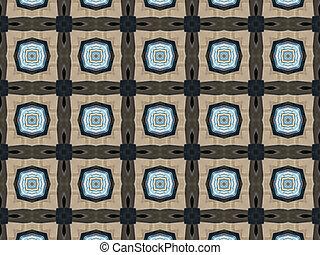 kaleidoscopic, padrão, textura