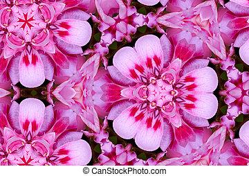 kaleidoscopic pink color games
