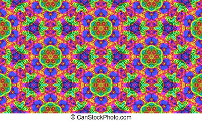 Kaleidoscopic seamless loop - Kaleidoscopic generated...