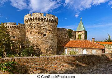 kalemegdan, セルビア, -, 要塞, ベオグラード