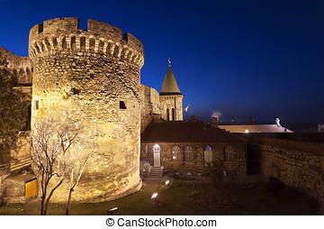 kalemegdan, 要塞, 中に, ベオグラード, セルビア