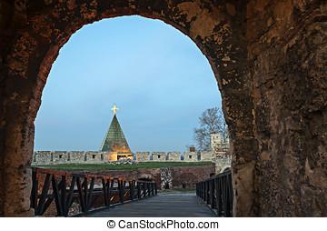 kalemegdan, 要塞, 在中, 贝尔格莱德, 塞尔维亚