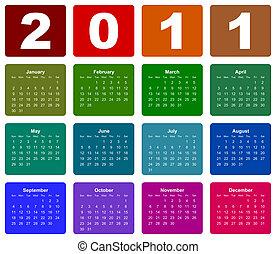 kalendarz, 2011, rok