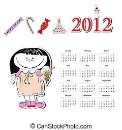 kalendarz, 2012