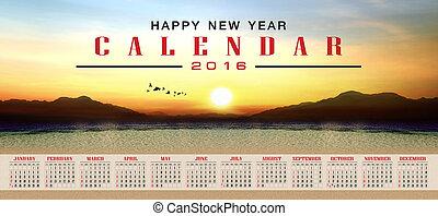 kalendarz, 2016
