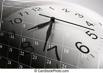 kalendarz, zegar
