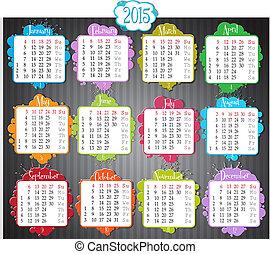 kalender, 2015