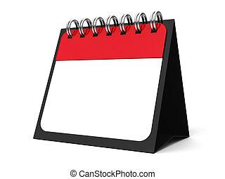 kalender, spirale, #5, ikone