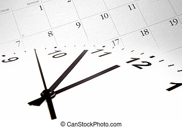 kalender, tijd