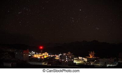 Kali Gandaki Stars Time Lapse.
