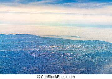 kalifornia, andreas, antenna, szanatórium, kilátás