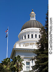 kalifornia, capitol kupola