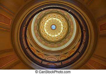 kalifornia, kongresszus székháza washingtonban, rotunda