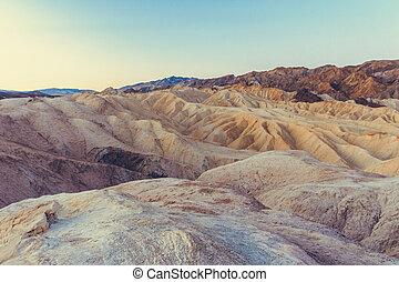 kalifornien, tal, nationalpark, tod, usa