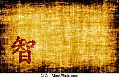 kaligrafia, -, chińczyk, filozofia