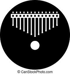 kalimbas, instrumento musical